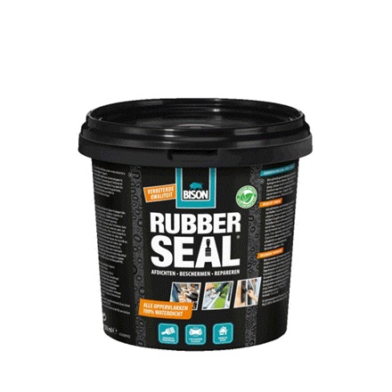 HIDROIZOLATIE RUBBER SEAL 750ml BISON