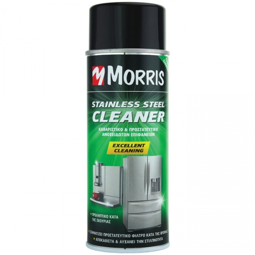 SPRAY CURATAT SUPRAFETE INOX MORRIS 400 ml