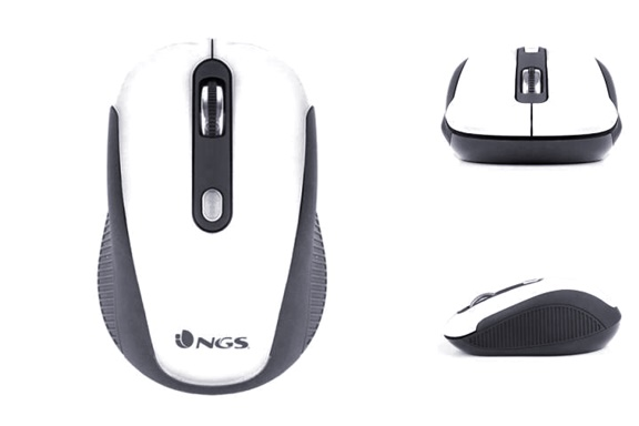 MOUSE WIRELESS OPTIC ALB-800 -1600 DPI NGS