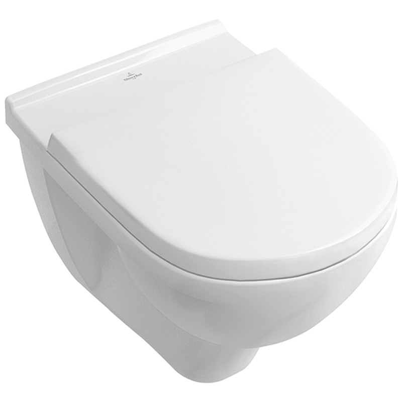 VAS WC O.NOVO COMPACT DF CU CAPAC SOFT CLOSE VILLEROY&BOCH