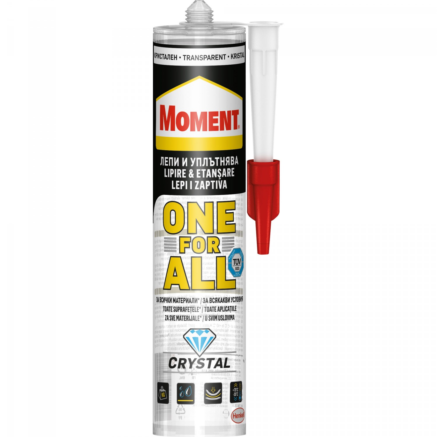 SILICON ONE FOR ALL CRYSTAL 290 gr MOMENT
