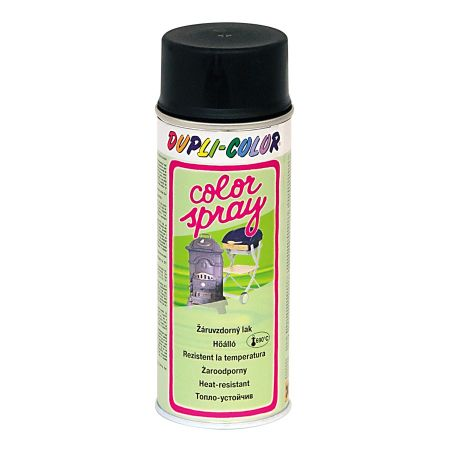 SPRAY TEMP 690C NEGRU 400ml DUPLI-COLOR