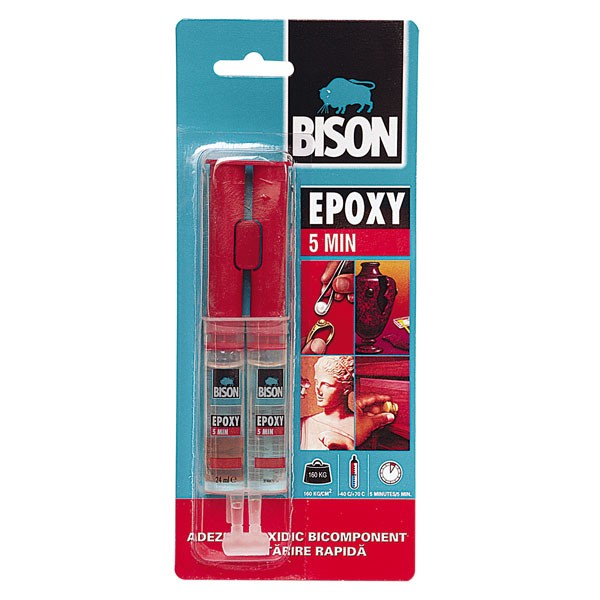 ADEZIV EPOXY BICOMPONENT 5 MINUTE BISON