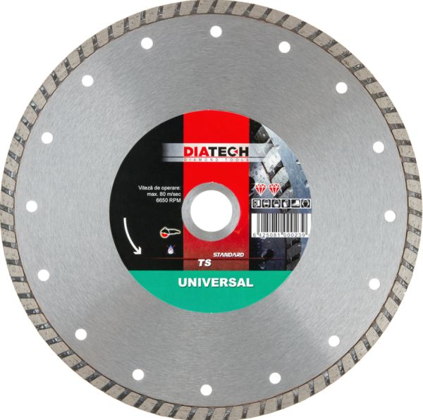 DISC DIAMANTAT TURBO TS 230 mm DIATECH