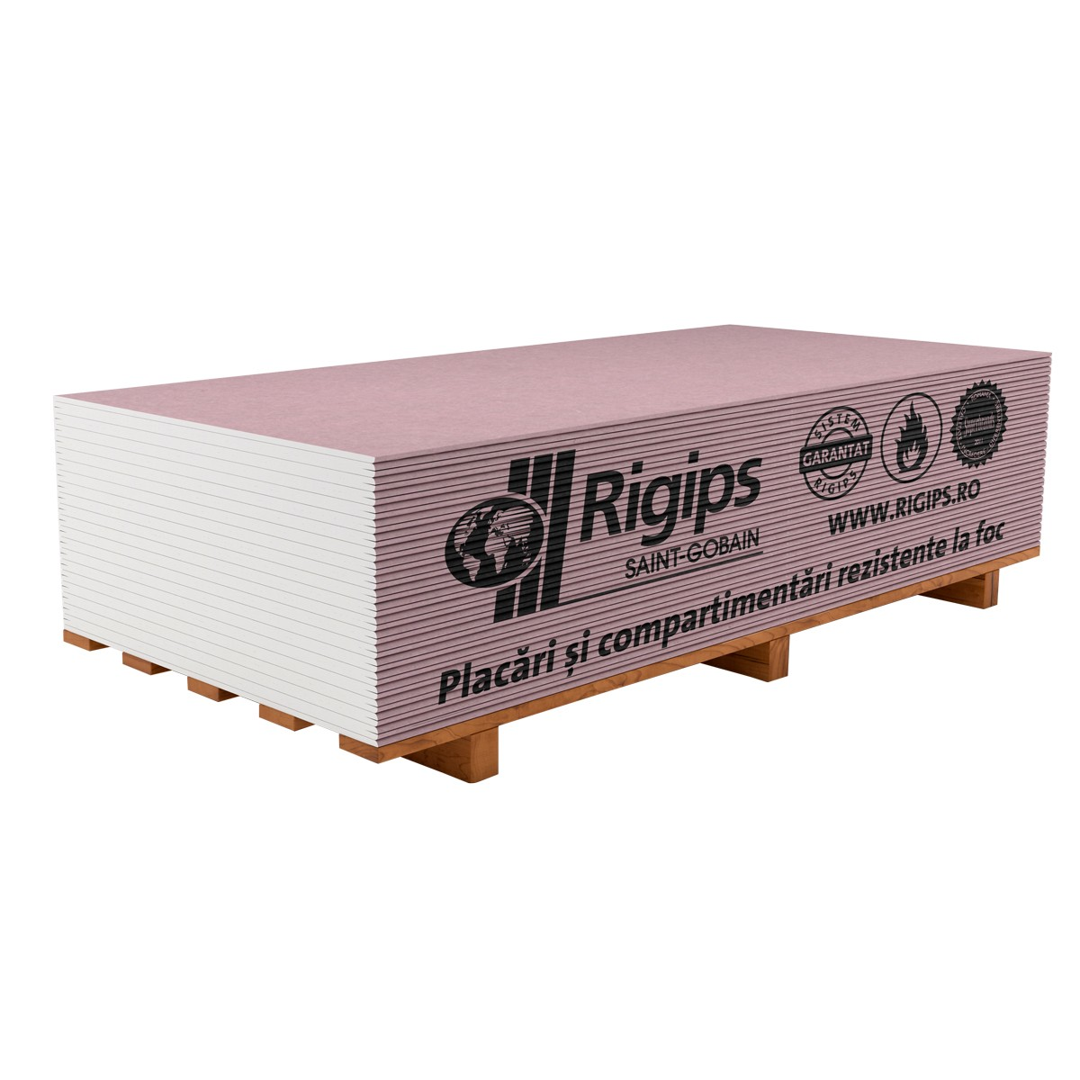 PLACA GIPS-CARTON RIGIPS ANTI-FOC 12.5*1200*2600 KNAUF