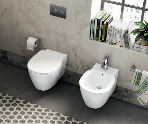 SET VAS WC SUSPENDAT SI BIDEU CONNECT SPACE IDEAL STANDARD
