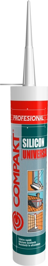 SILICON UNIVERSAL TRANSPARENT COMPAKT 280 ml