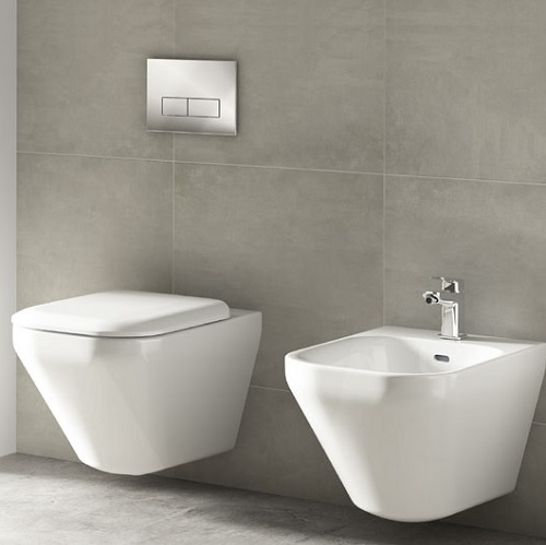 SET VAS WC SUSPENDAT AQUABLADE SI BIDEU TONIC II IDEAL STANDARD